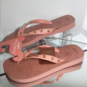 Charlotte Olympia For Havaianas Web Flip Flops